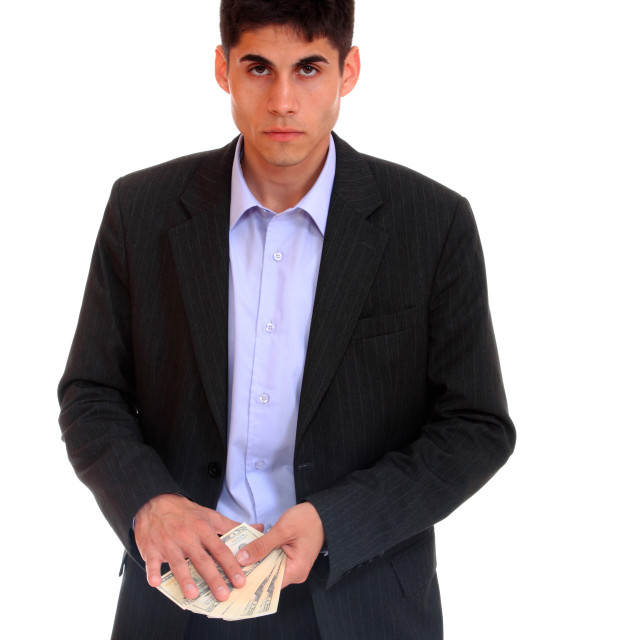 """""""Handsome business man"""" stock image"""