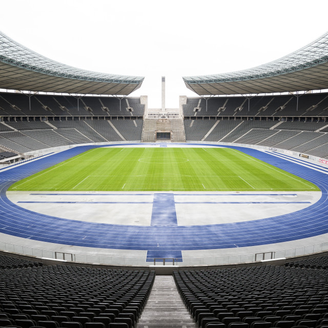 """Olympia Stadion"" stock image"