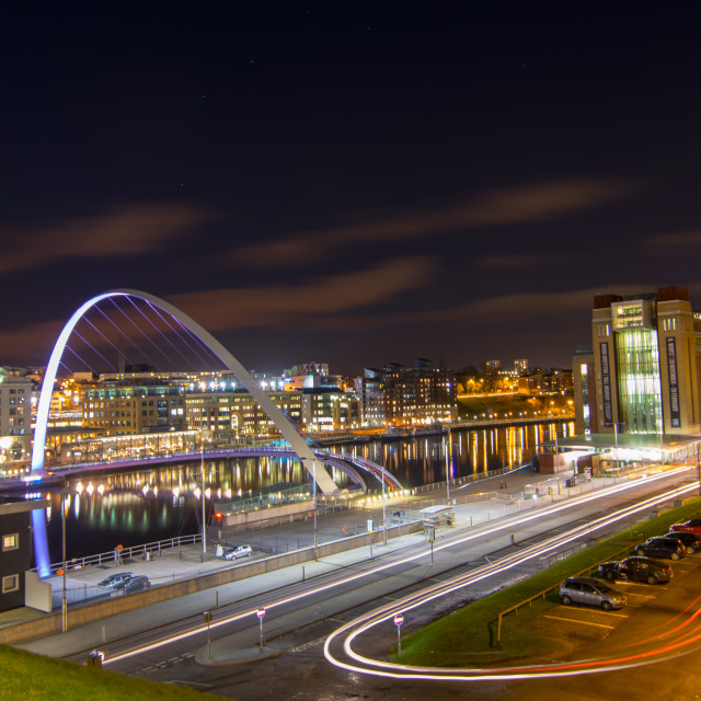 """Baltic Square, Gateshead"" stock image"