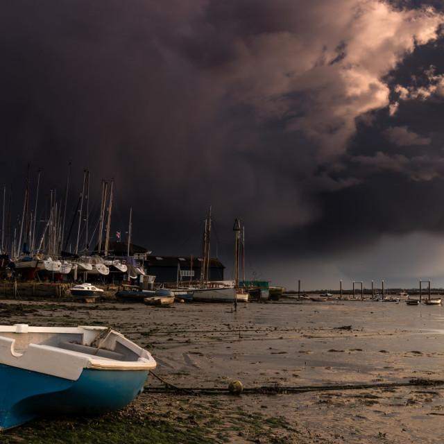 """""""Storm Katie (2)"""" stock image"""