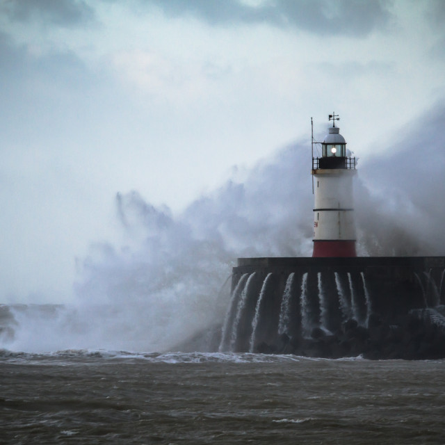 """Newhaven lighthouse"" stock image"