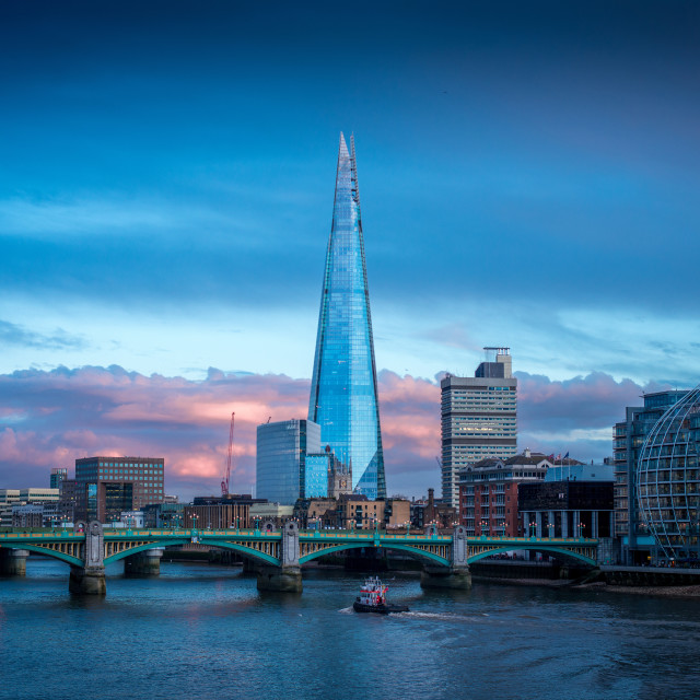 """The Shard, London, UK"" stock image"