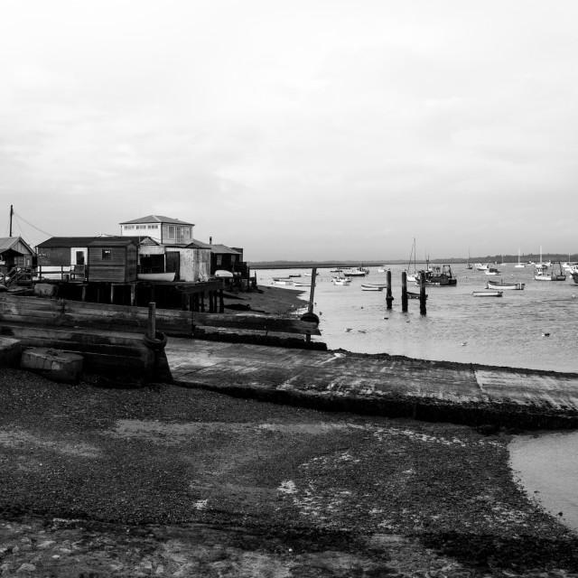 """""""Felixstowe Ferry"""" stock image"""