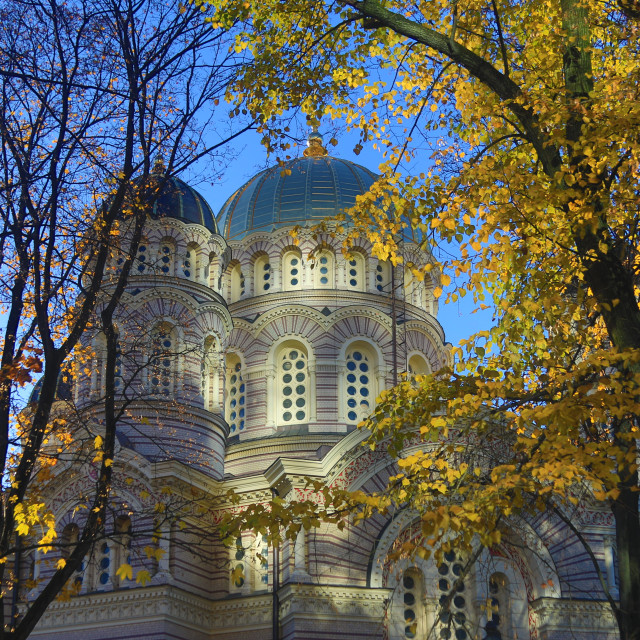 """Nativity Cathedral Riga"" stock image"