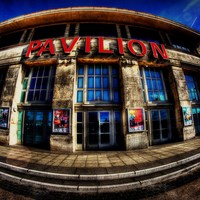 """Bournemouth Pavilion"" stock image"