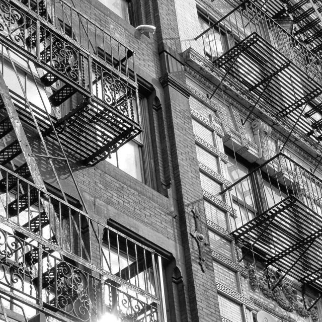 """New York building"" stock image"