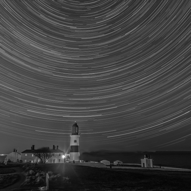 """""""Souter star trail"""" stock image"""