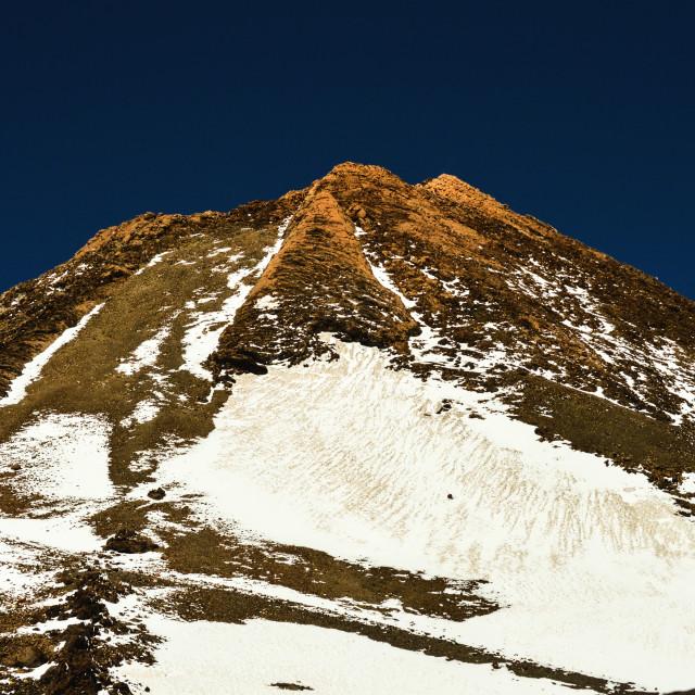 """""""El Teide"""" stock image"""