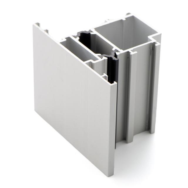 """Aluminium profile sample"" stock image"