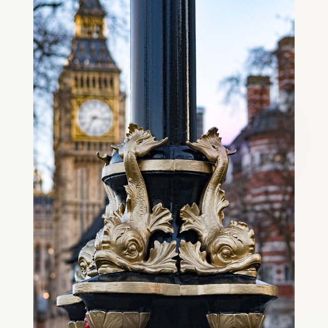 """Ornate Lamppost"" stock image"