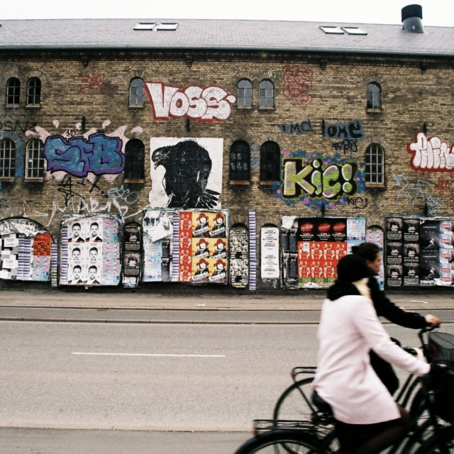 """""""Christiania, Copenhagen, Denmark"""" stock image"""
