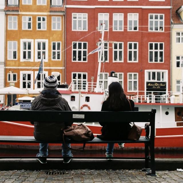 """""""Copenhagen, Denmark"""" stock image"""