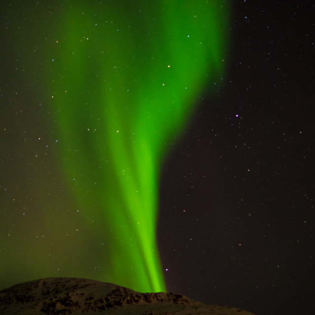 """""""Aurora beam"""" stock image"""