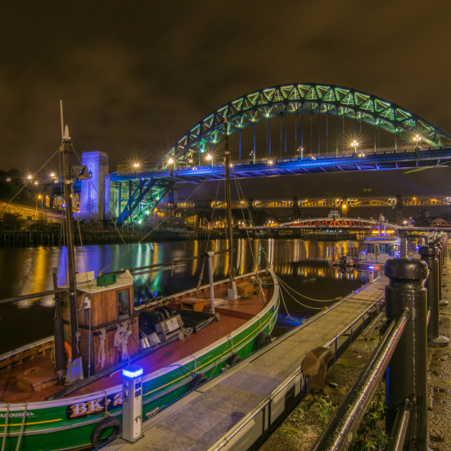 """Moored on quayside"" stock image"
