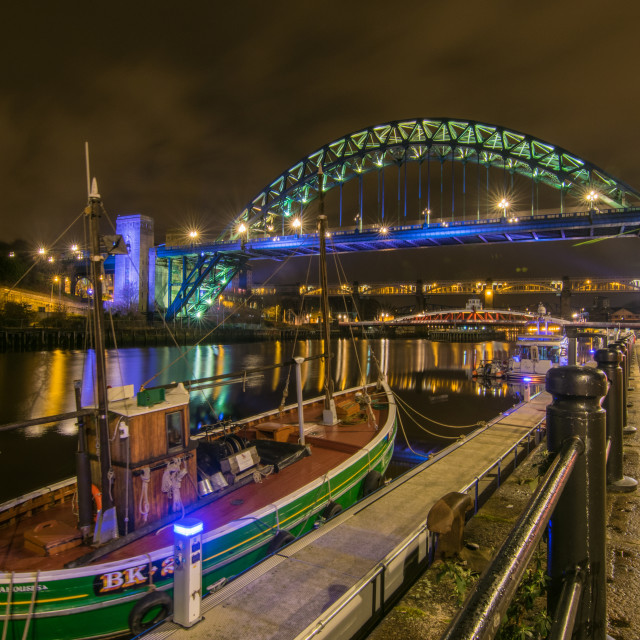 """Siene Netter on the quayside"" stock image"