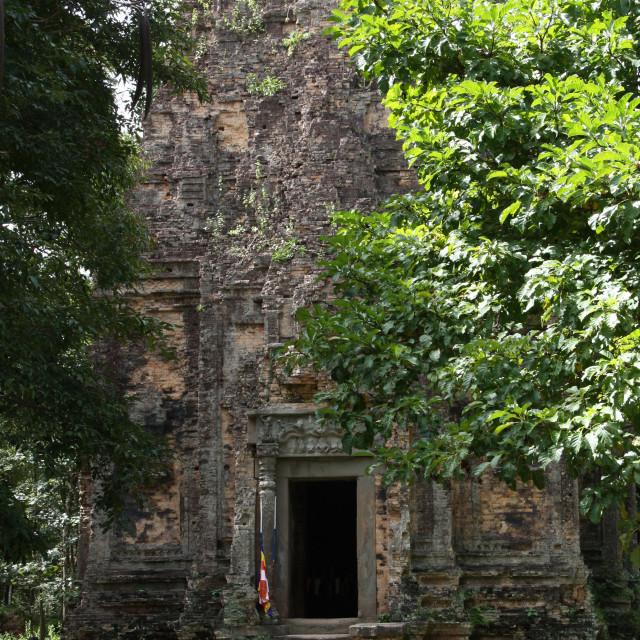 """Hidden temple"" stock image"