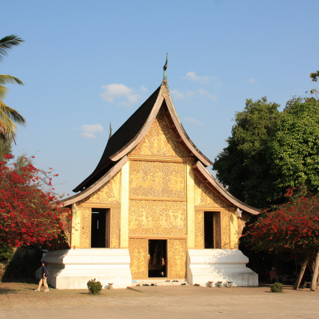 """""""Wat Xieng Thong"""" stock image"""