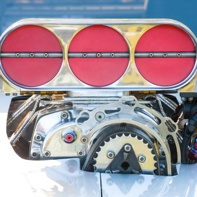 """""""powerful vehicle engine"""" stock image"""
