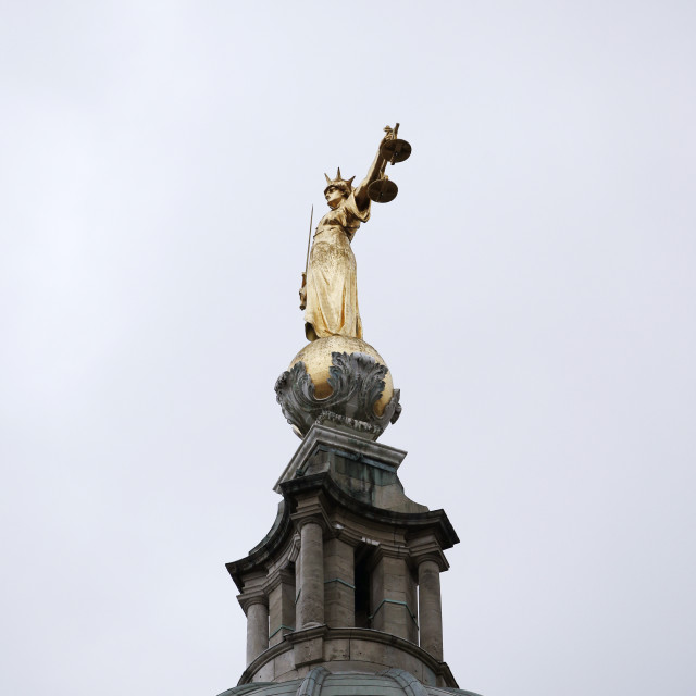 """Lady Justice"" stock image"