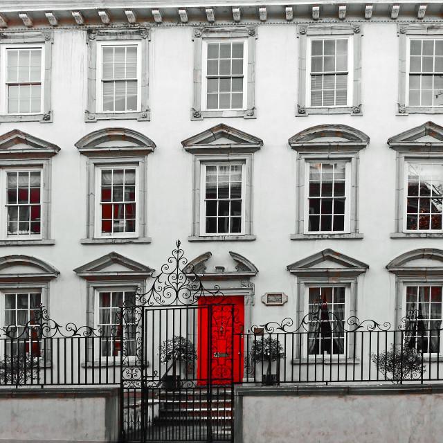 """""""Red Door"""" stock image"""