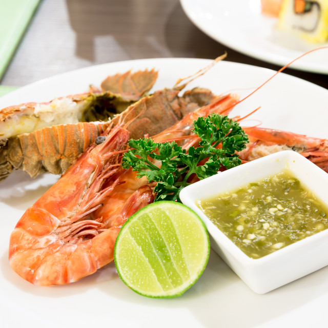"""mantis shrimp prawn"" stock image"