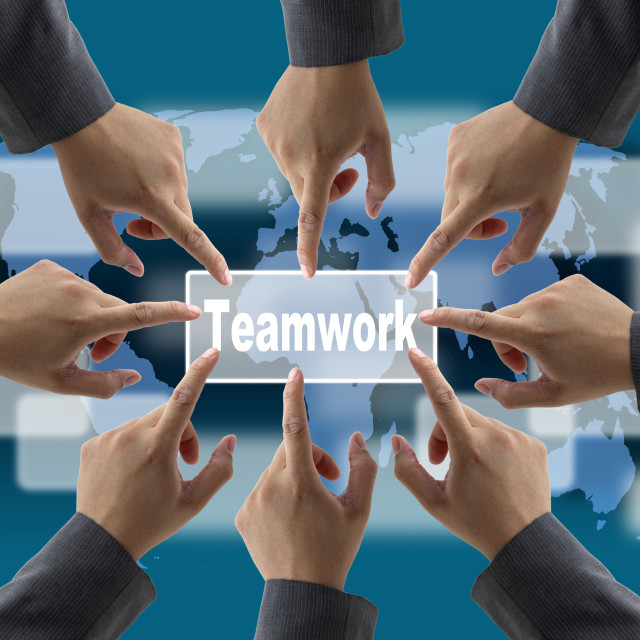 """teamwork"" stock image"