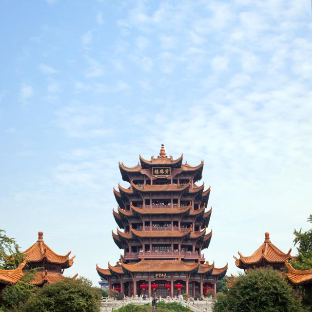 """Yellow Crane Tower Wuhan China"" stock image"