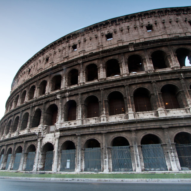 """colosseum Italy"" stock image"