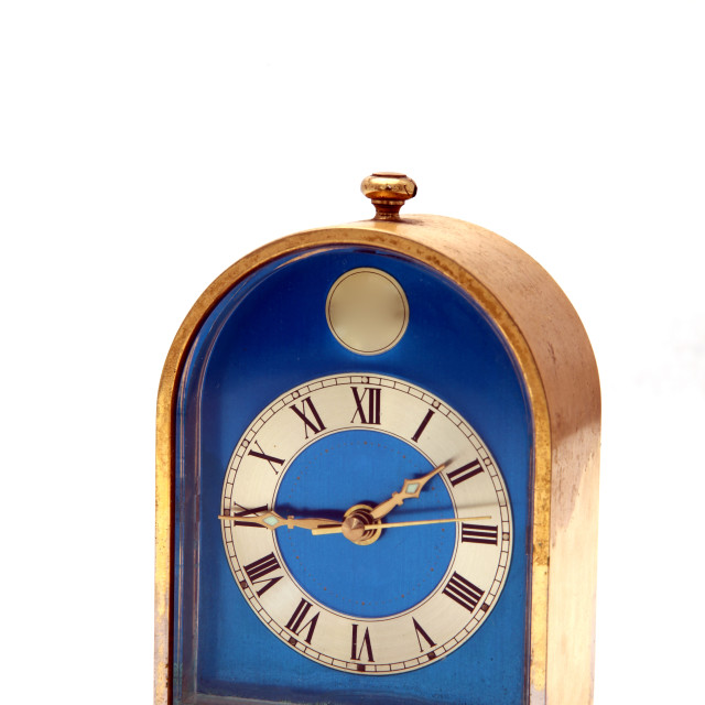 """vintage clock, antique"" stock image"