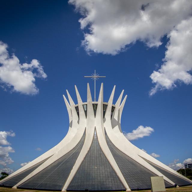 """Cathedral of Brasilia"" stock image"