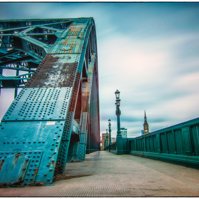 """The Tyne Bridge"" stock image"