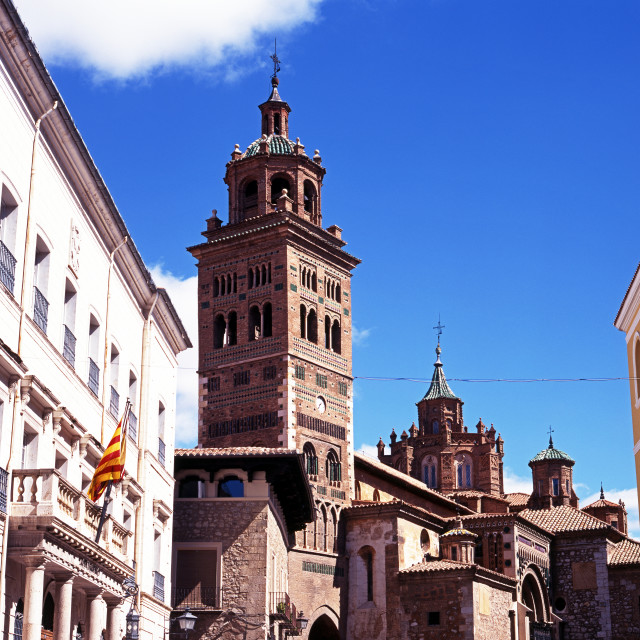 """Teruel city centre, Spain"" stock image"