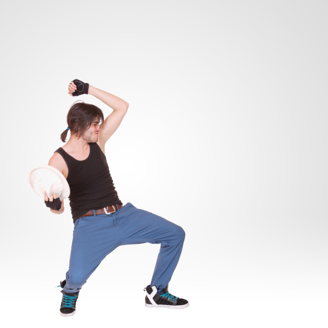 """""""cool breakdance style dancer"""" stock image"""