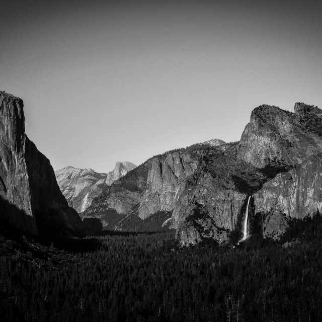 """Yosemite Valley"" stock image"