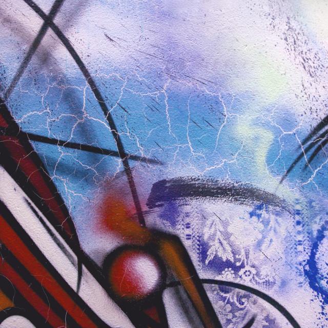 """Grafitti"" stock image"