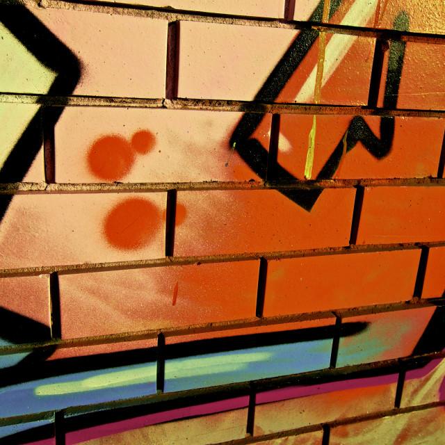 """Graffiti, abstract"" stock image"