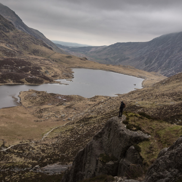 """Snowdonia View"" stock image"