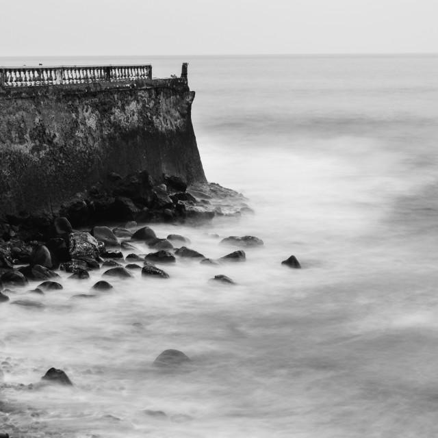 """""""Poetic beach scene"""" stock image"""