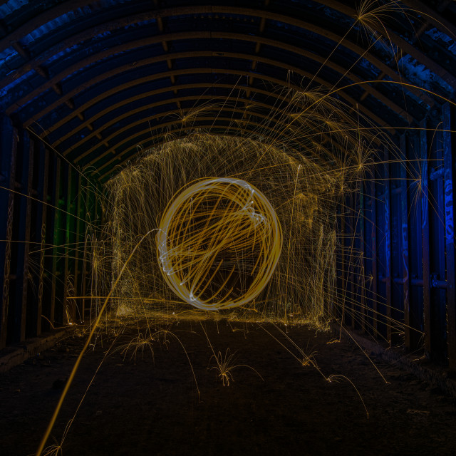 """spinning underground"" stock image"