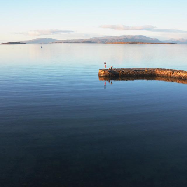 """Tranquillity on the Isle of Skye"" stock image"