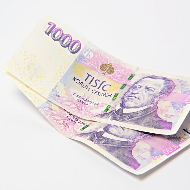 """czech money crown"" stock image"