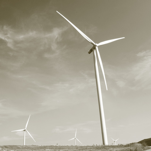 """""""electric windmill"""" stock image"""