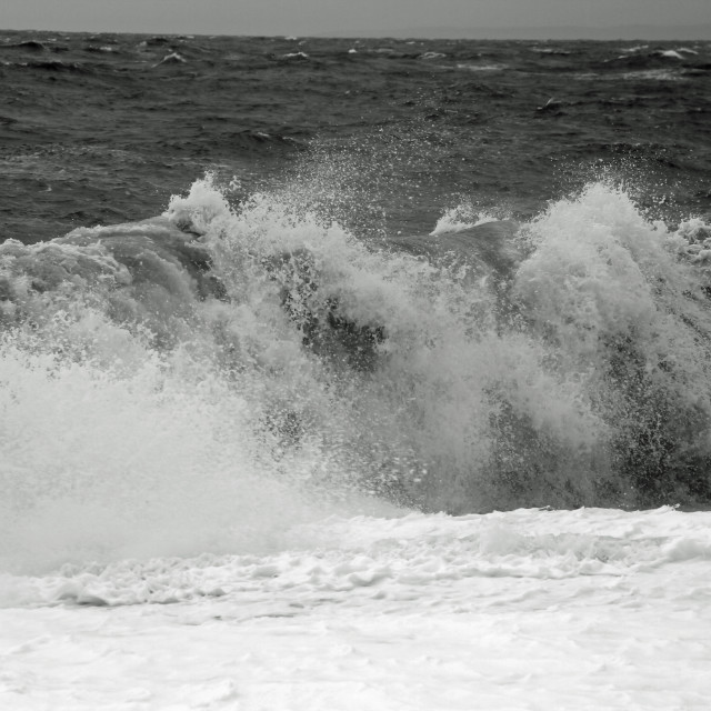 """Exmouth Waves"" stock image"