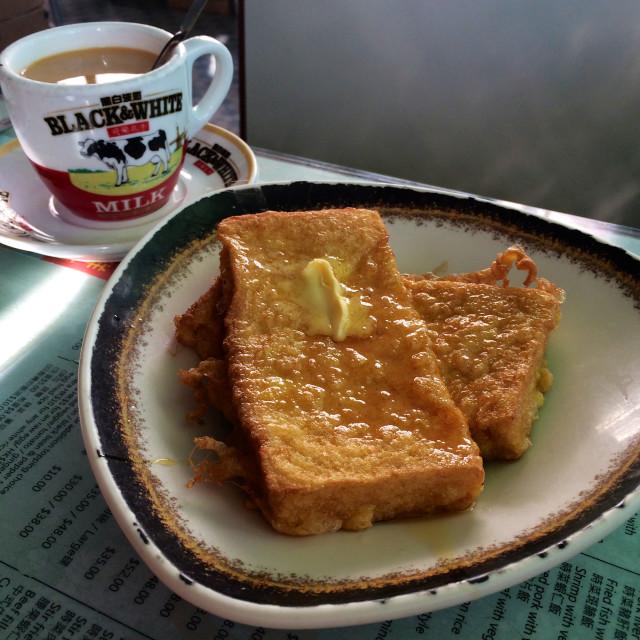 """Hong Kong breakfast"" stock image"