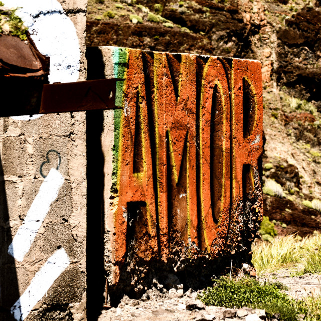 """Amor"" stock image"