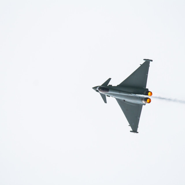 """The Eurofighter Typhoon"" stock image"