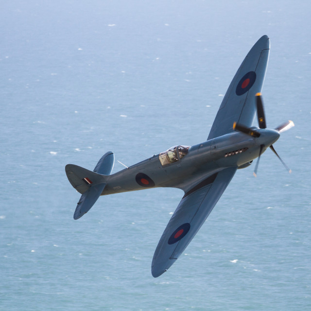 """The spitfire"" stock image"