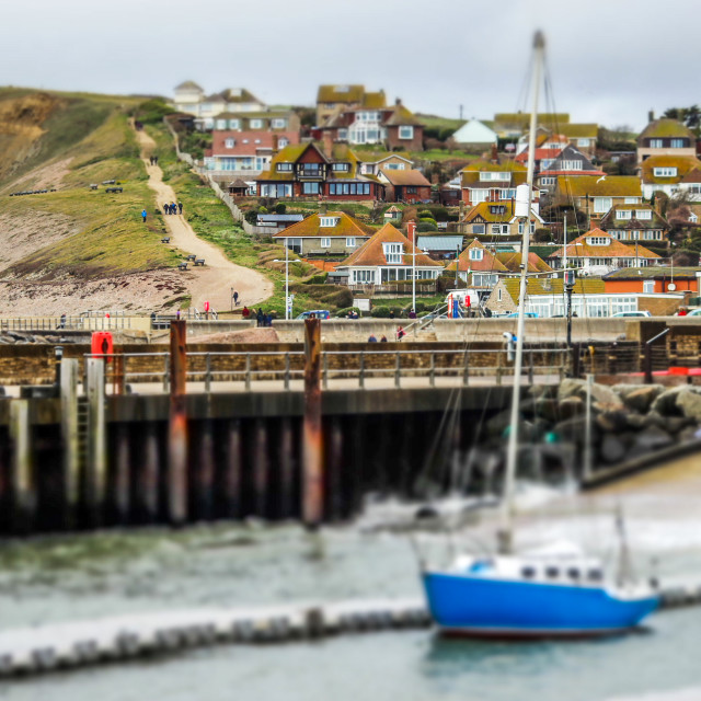 """""""Westbay Harbour"""" stock image"""