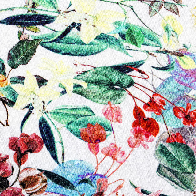 """""""Textile in a flowers, a background"""" stock image"""