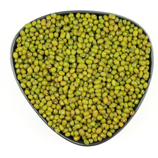 """Seeds Organic Mung bean."" stock image"